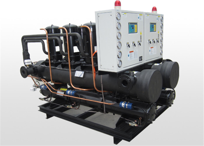 R407C water cooled screw chiller with High quality and single compressor