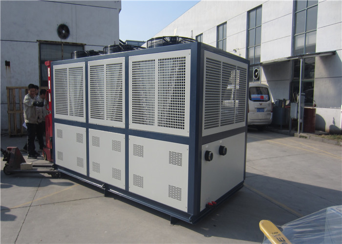 single compressor and R407C Industry water chiller for plastic