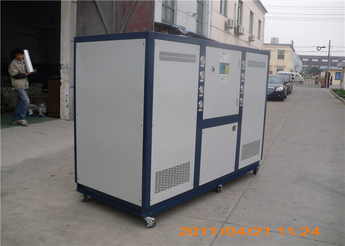 Single compressor Industry water chiller with R407C and plastic