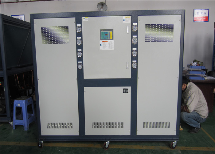 single compressor Industry water chiller for plastic  and R407C