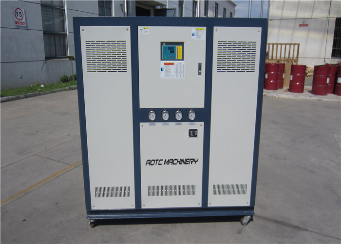 Plastic and single compressor Industry water chiller with R407C