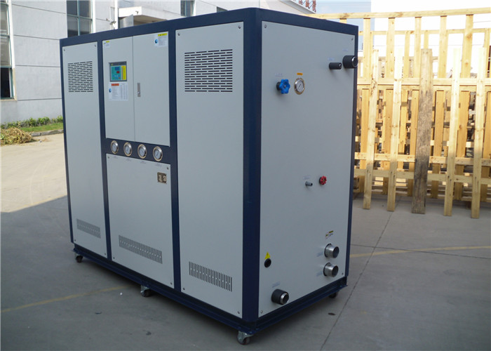 Plastic and R407C Industry water chiller with single compressor