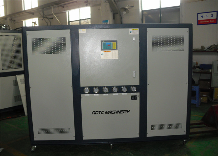 Plastic Industry water chiller with single compressor and R407C