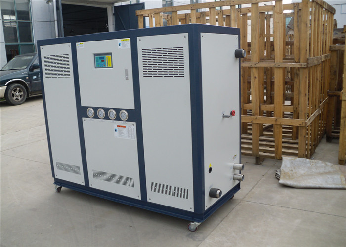 Plastic, R407C and single compressor Industry water chiller