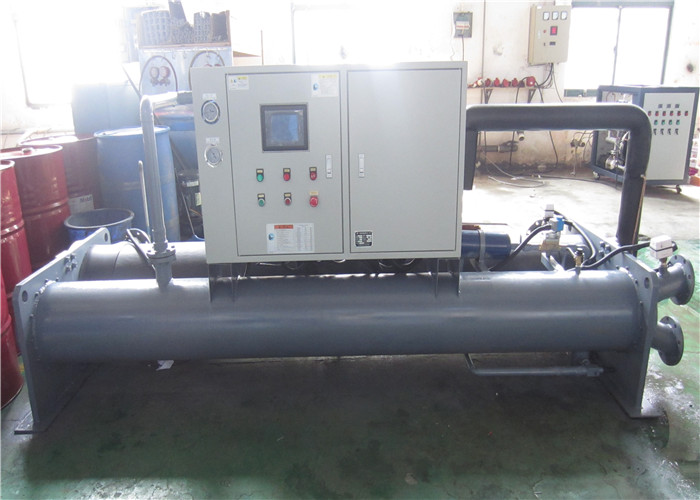Stainless steel water cooled screw chiller with R410A coolant, CE and ROHS