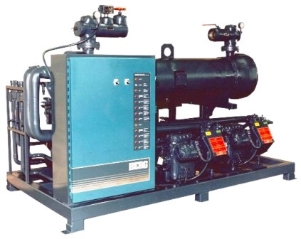 industrial chiller machine Copeland compressor and one year warranty water cooled chiller AC-50WE wi