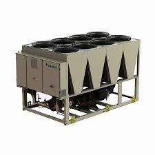 Low Temp Air Cooled Chillers Industrial Water Cooling Machine , High Efficiency