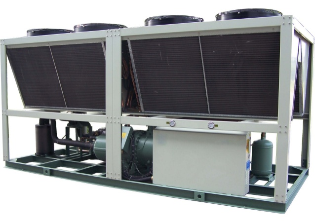 Packaged Air Cooled Chillers Industrial Chiller With Scroll Compressor